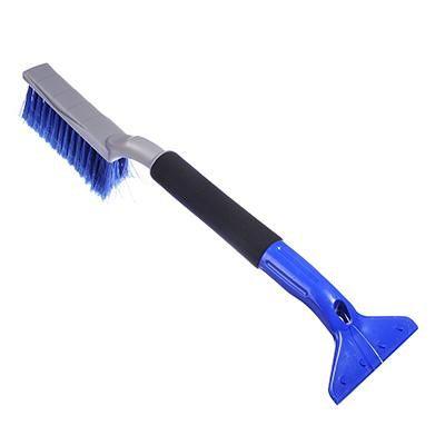 Скрепер для уборки снега кенгуру лопата+ручка+колеса 0538